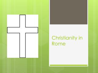 Christianity in Rome