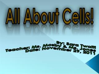 All About Cells!