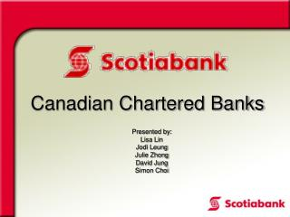 Canadian Chartered Banks