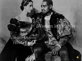 Women in Othello
