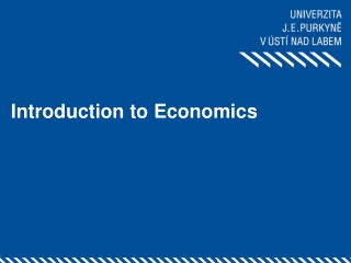 Lecture 5 Market Equilibrium: State of Balance Between Demand Supply