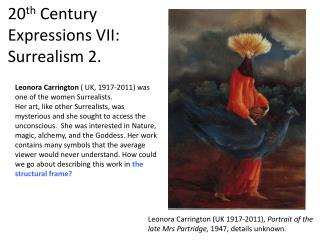 20 th  Century Expressions VII: Surrealism 2.