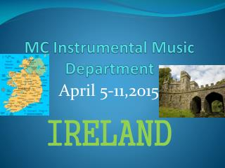 MC  Instrumental Music Department
