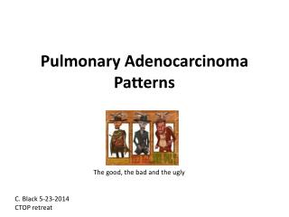 Pulmonary Adenocarcinoma Patterns