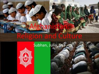 Afghanistan: Religion and Culture