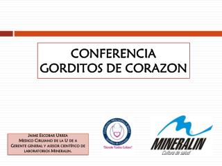 CONFERENCIA  GORDITOS DE CORAZON