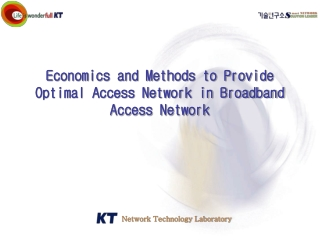 Broadband Access Networks and Services