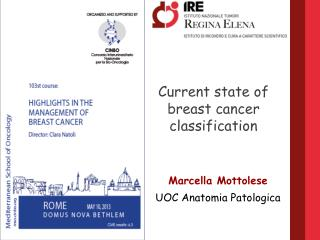 Current state of breast cancer classification