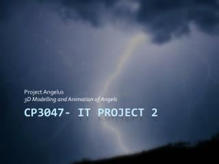 CP3047- IT Project 2