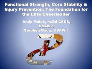 Functional Strength, Core Stability & Injury Prevention: The Foundation for the Elite Cheerleader
