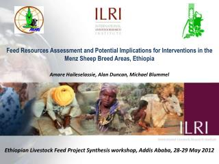 Ethiopian Livestock Feed Project Synthesis workshop, Addis Ababa, 28-29 May 2012