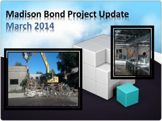 Madison Bond Project Update  March 2014