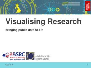 Visualising Research bringing public data to life