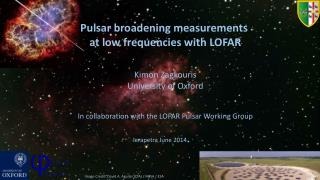 Pulsar broadening measurements  at low frequencies with LOFAR