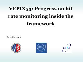VEPIX53: Progress on hit rate monitoring inside the framework