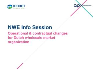 NWE Info Session