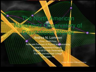 The North American  NanoHertz  Observatory of Gravitational Waves