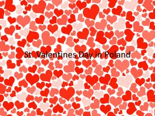 St.  Valentines  Day  in  Poland