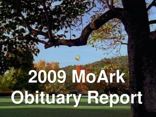 2009 MoArk Obituary Report