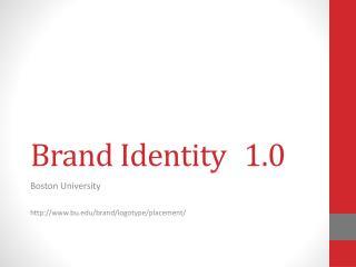 Brand Identity1.0