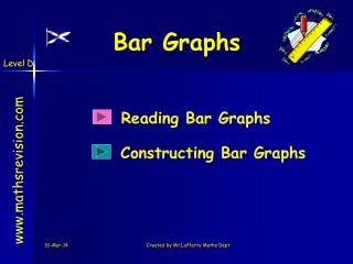 Bar Graphs