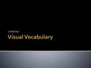 Visual Vocabulary