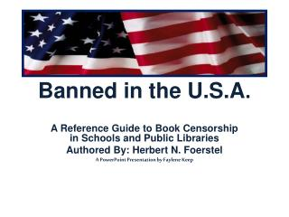 Banned in the U.S.A .