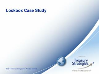 Lockbox Case Study
