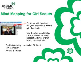 Mind  Mapping for Girl Scouts