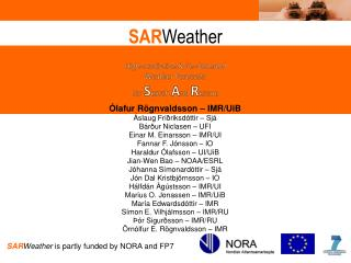 SAR Weather