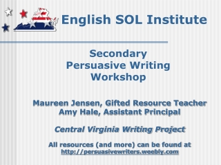 Writing  Critical Thinking Workshop