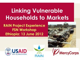 Linking Vulnerable Households to Markets