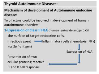 Thyroid Autoimmune Diseases: