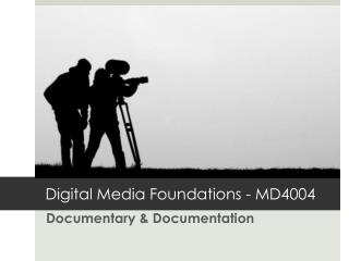 Documentary & Documentation