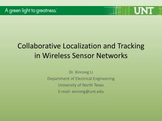 Collaborative Localization and Tracking in Wireless Sensor Networks