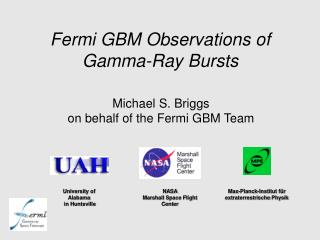 Fermi GBM Observations of Gamma-Ray Bursts