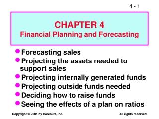 Financial Planning  Forecasting