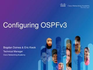 Configuring OSPFv3