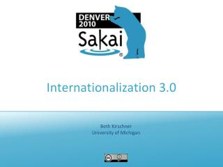 Internationalization 3.0