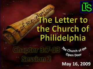 Chapter 3:7-13 Session 2