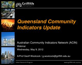 Queensland Community Indicators Update