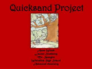 Quicksand Project