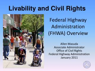 Federal Highway Administration (FHWA) Overview