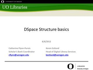 DSpace  Structure basics