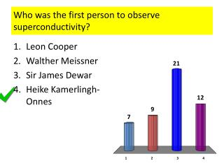 Who was the first person to observe superconductivity?
