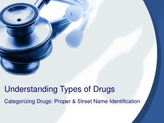 Understanding Types of Drugs