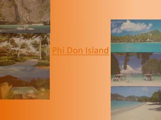 Phi Don Island