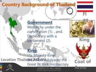 Location Thailand ASEAN