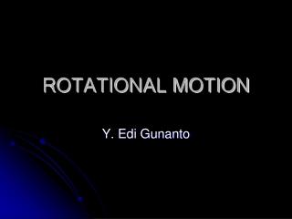 Lab 8: Rotational Motion II: The Rotating Bar