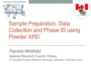 Sample Preparation, Data Collection and Phase-ID using Powder XRD